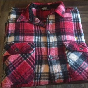 Flannel button up Polo Ralph Lauren like new